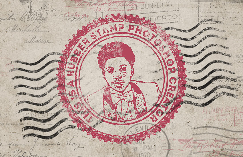 How to Create a Rubber Stamp Effect in Adobe Photoshop Controlled Copy Stamp