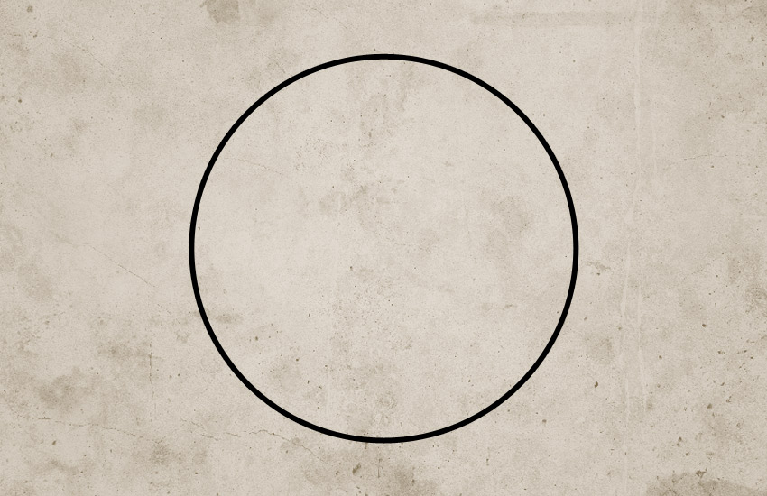 Draw Circle Shape in Photoshop