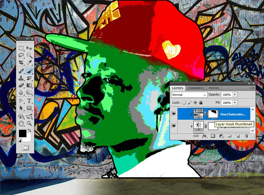 Paint Inside the Layer Mask