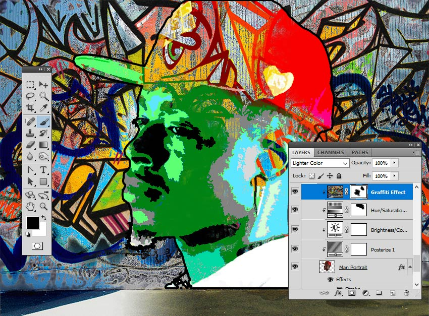 Paint Inside the Layer Mask in Photoshop