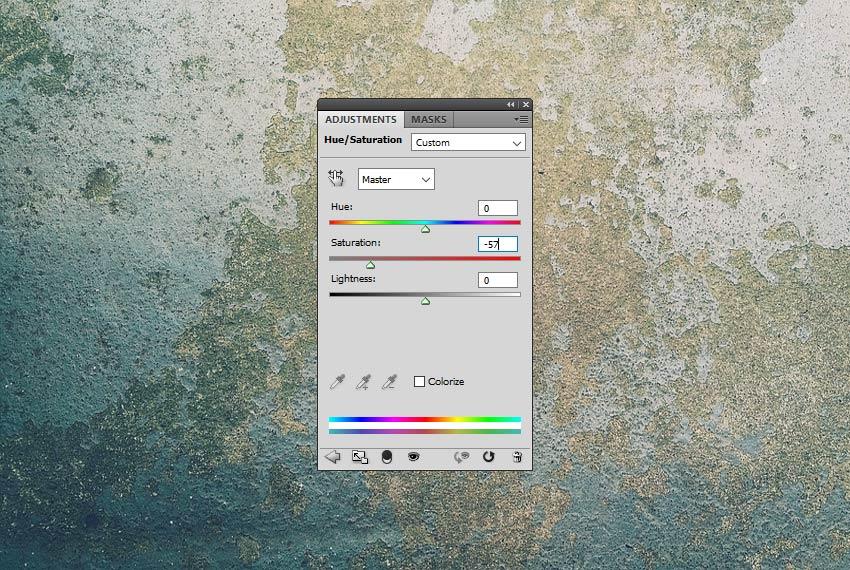 Hue Saturation Adjustment in Photoshop