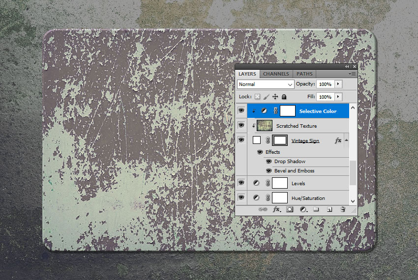 Selective Color Adjustment in Photoshop