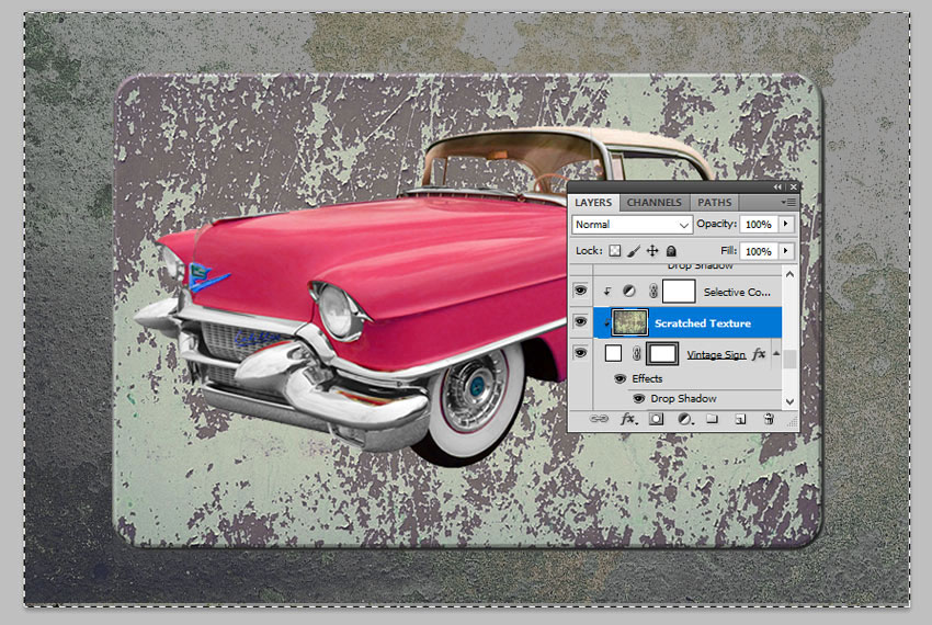 Make Selection From Layer in Photoshop