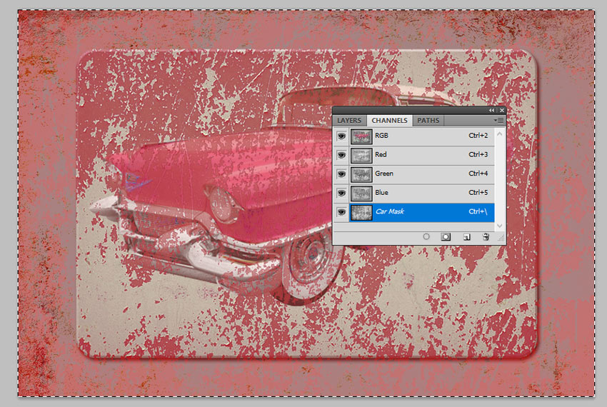 Work with Channels in Photoshop