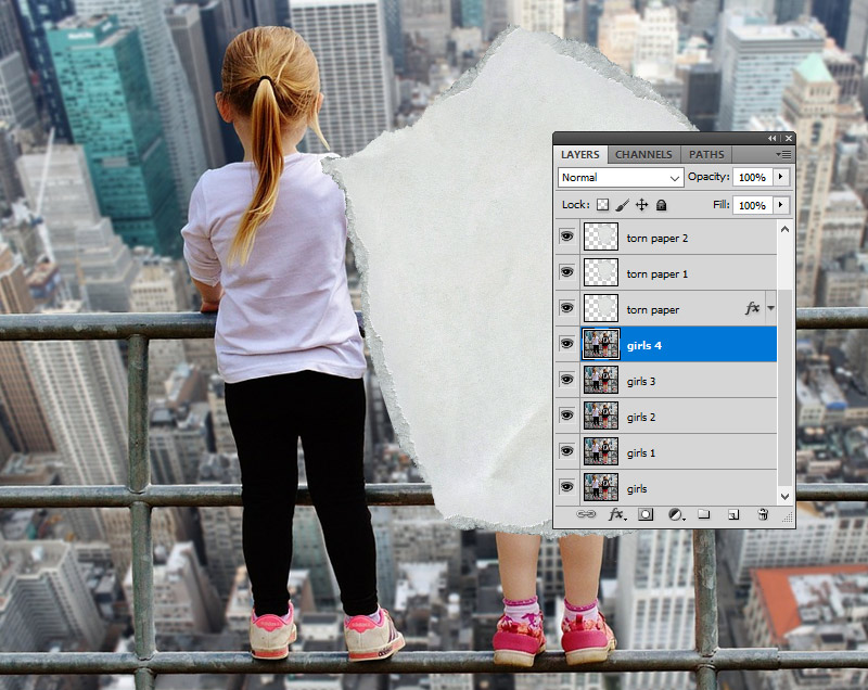 Duplicate Layers in Photoshop