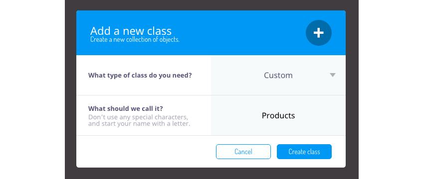 Create a new Custom class