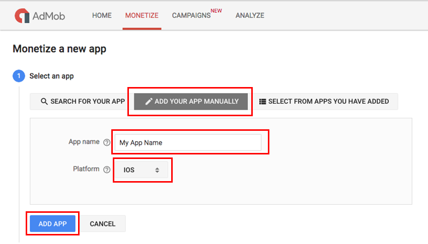 Start monetizing your app