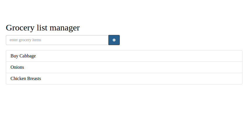 Creating a Grocery List Manager Using Angular, Part 1: Add & Display Items