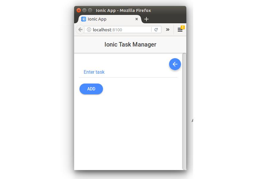 Task Manager App - Add Task