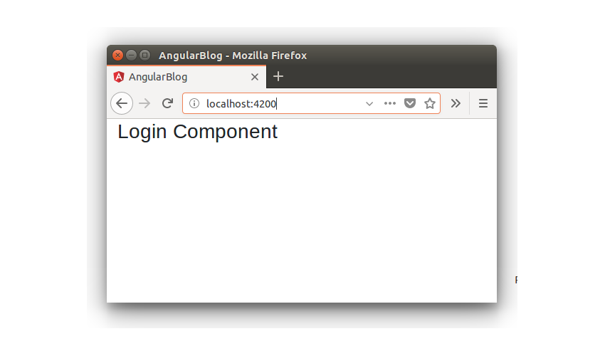 Creating a Blogging App Using Angular & MongoDB: Login