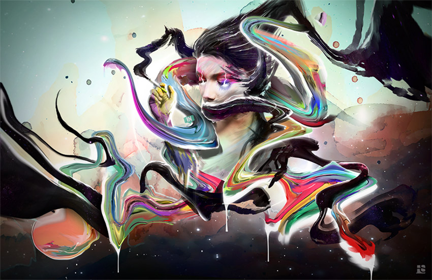 How to Create an Abstract, Psychedelic Portrait Photo Manipulation in Photoshop