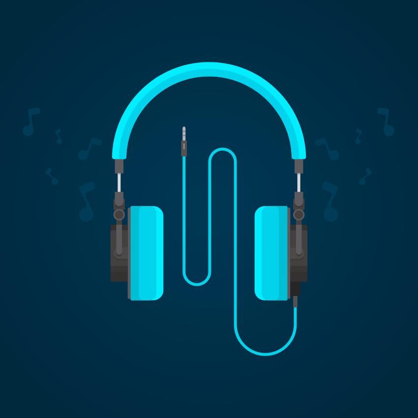 How to Create Flat Design Headphones in Adobe Illustrator