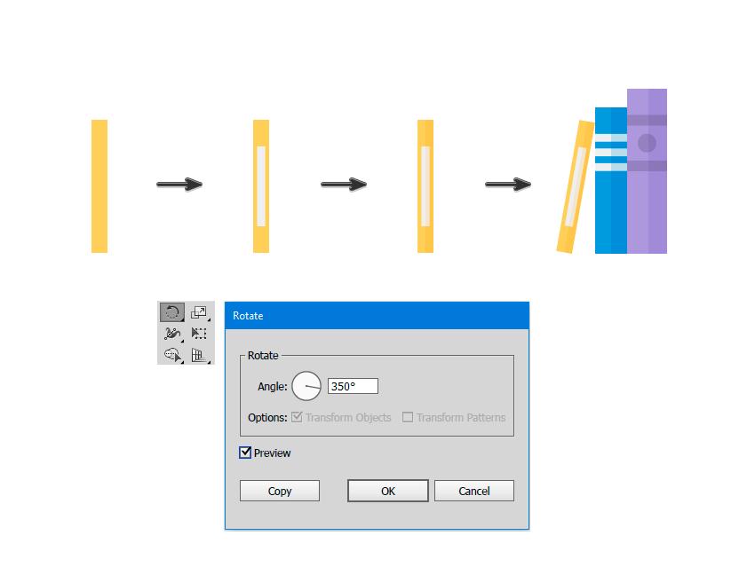 How to Create a Flat Design WallShelves Illustration in AdobeIllustrator
