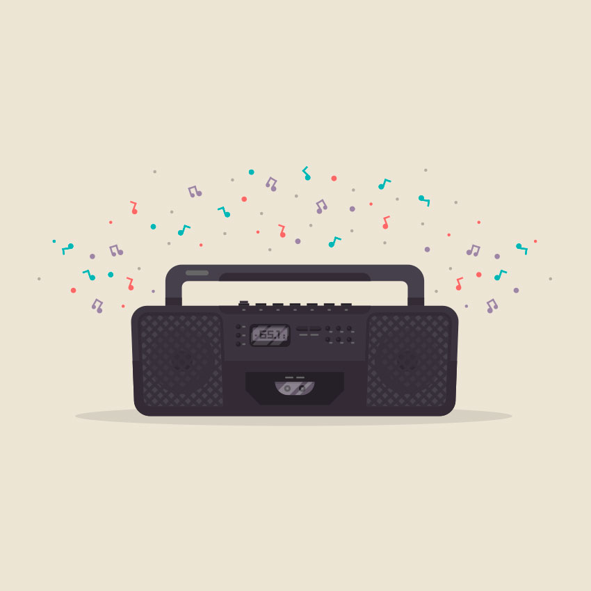 How to Create a 90s Radio in Adobe Illustrator