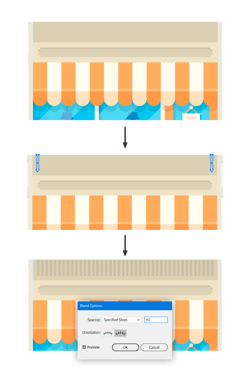 How to Create a Bodega Shop Illustration in Adobe Illustrator