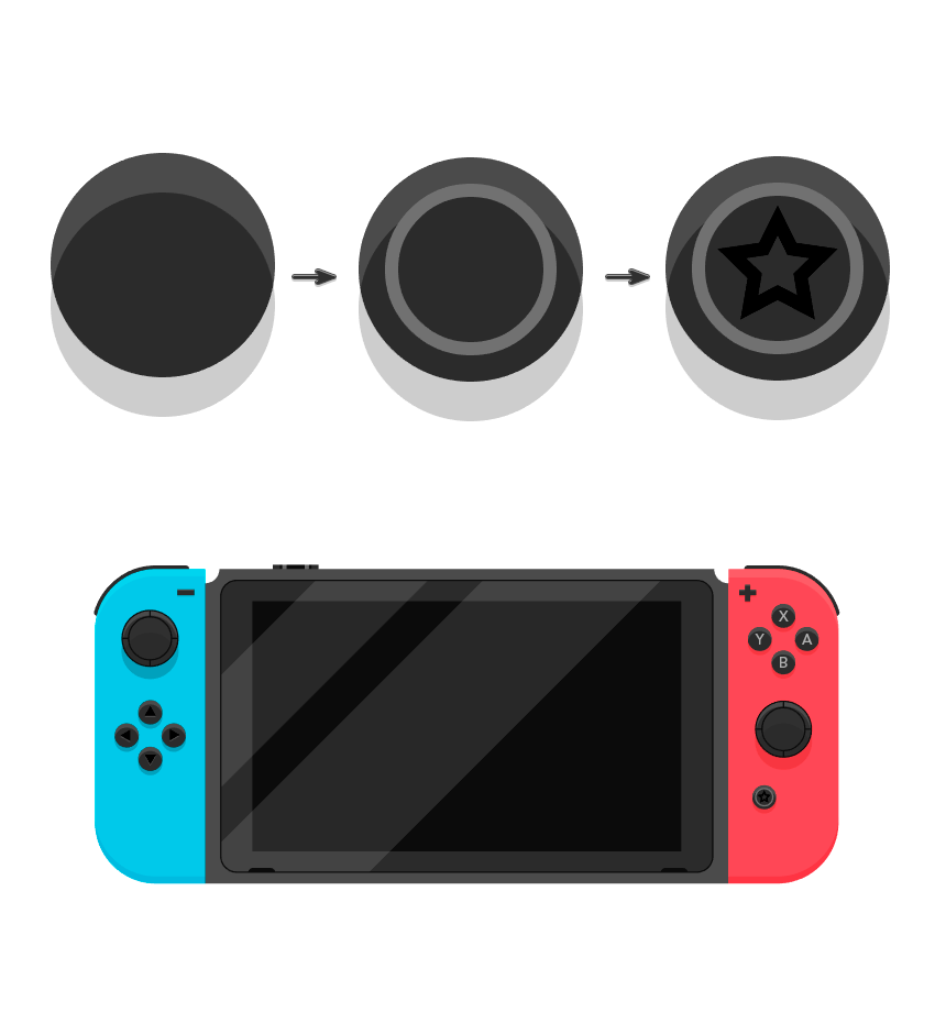Adding Star button in the Nintendo