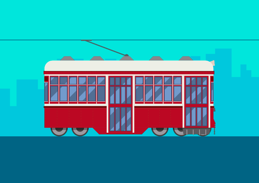 How to Create a Tram in Adobe Illustrator