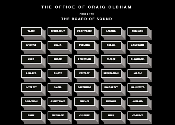 The Office of Craig Oldham