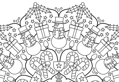 Festive mandala preview image 03