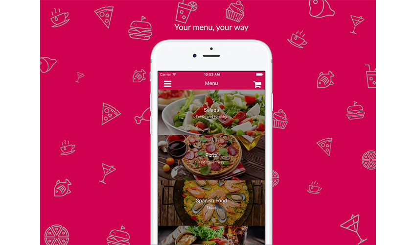 Restaurant Template React Native