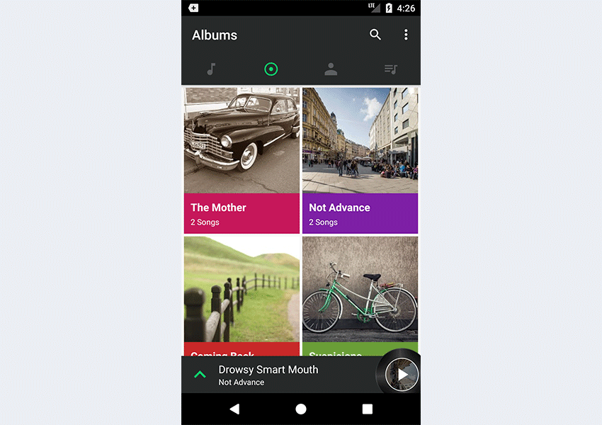 Build a Music App With an Android App Template