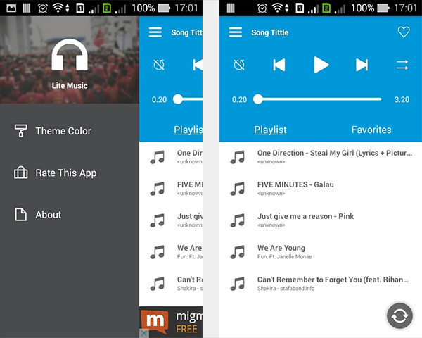 Create a Music Player on Android: Project Setup