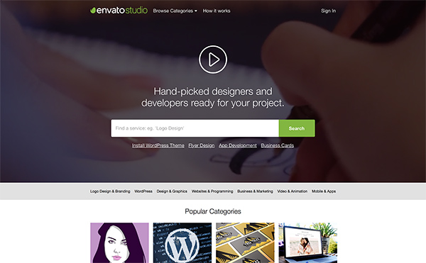 new opportunity for freelance writers at envato studio, Powerpoint templates