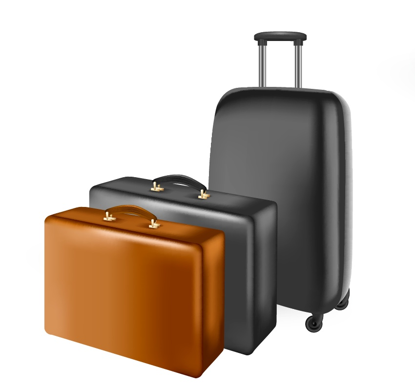 How to Create a Set of Vector Suitcases in Adobe Illustrator