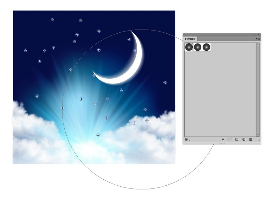 How to Create a Night Sky With Clouds Using Adobe Illustrator & Photoshop
