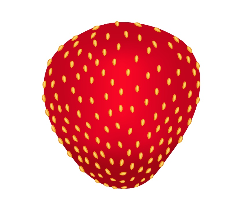 How to Use Gradient Mesh to Create Strawberries in a Milk Splash in Adobe Illustrator