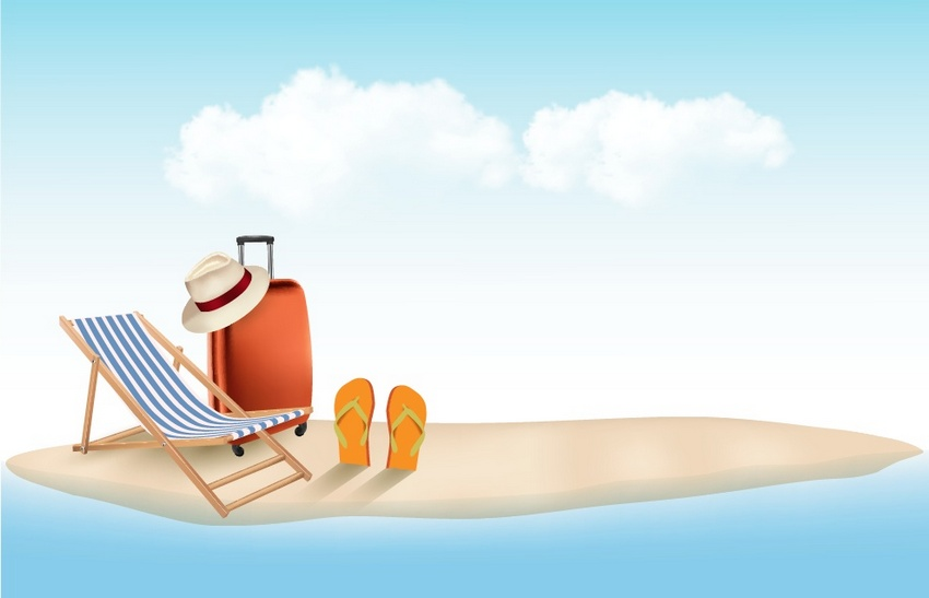 How to Create a Summer Vacation Background in Adobe Illustrator