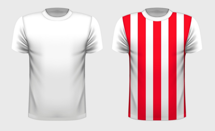 How To Create A Vector TShirt Template And Apply A Pattern To It