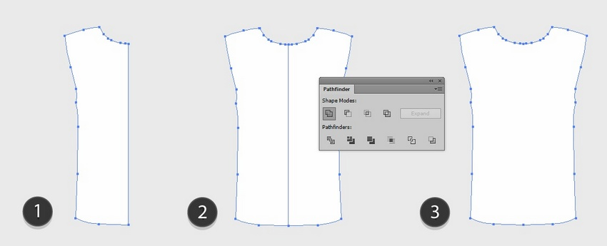 How to Create a Vector T-Shirt Template and Apply a Pattern to It With Adobe Illustrator