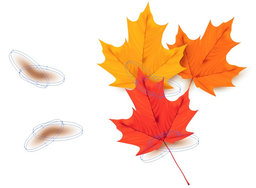 How to Draw a Colorful Autumn Background With Leaves in Adobe Illustrator