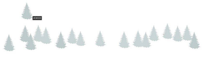 How to Draw a Winter Christmas Landscape With a Wooden Sign in Adobe Illustrator