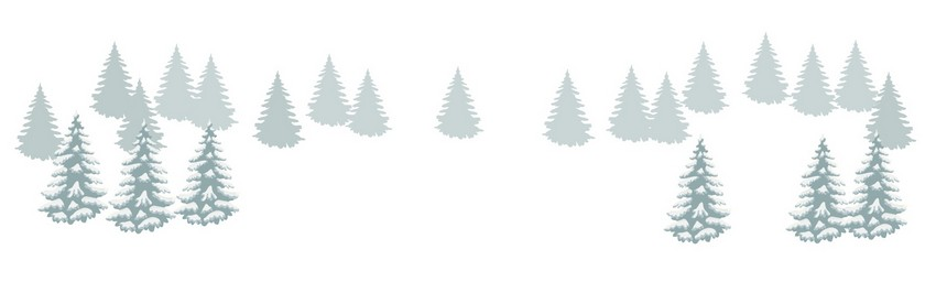 add snow pine trees