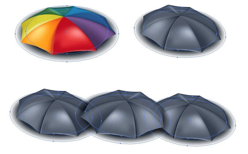 How to Create a Rainbow Umbrella in Adobe Illustrator