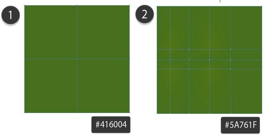 create mesh square