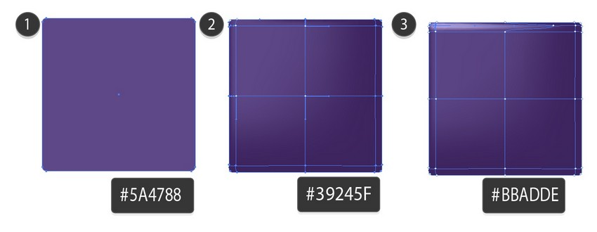 draw violet mesh box