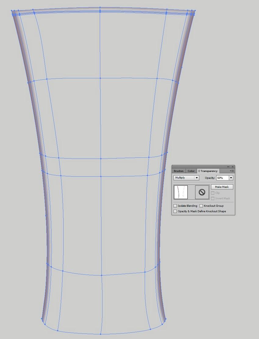 transparent mesh