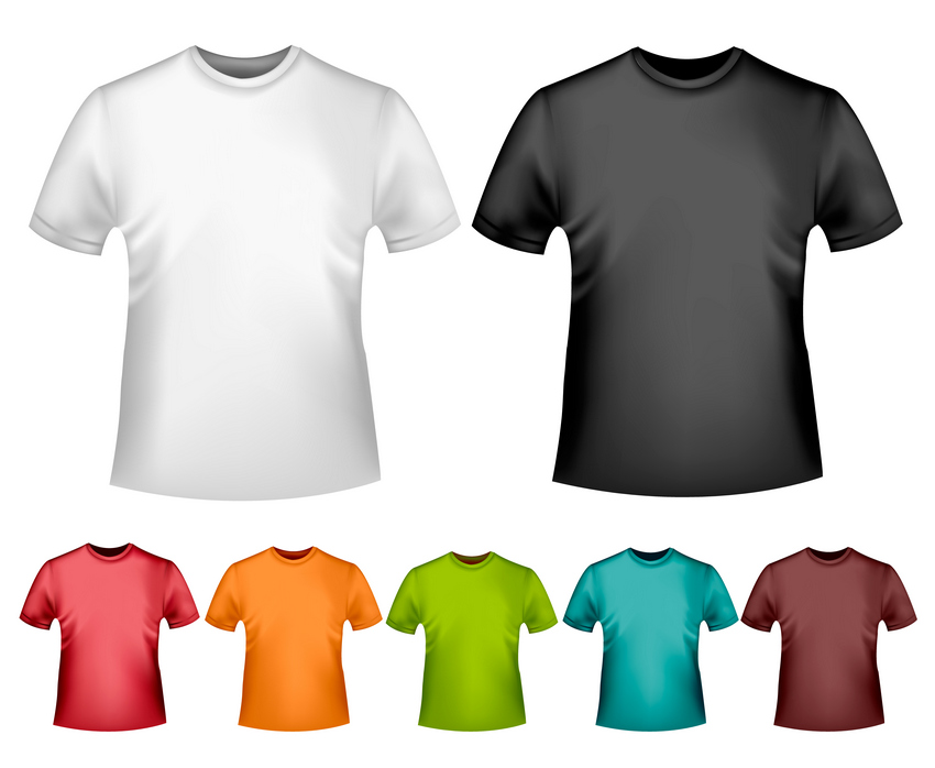 How To Create A Vector TShirt Mockup Template In Adobe Illustrator - Design a shirt template