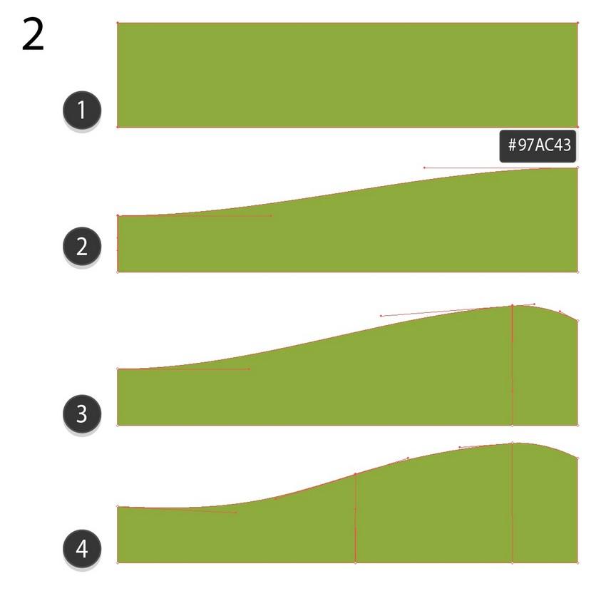 nature background vector tutorial