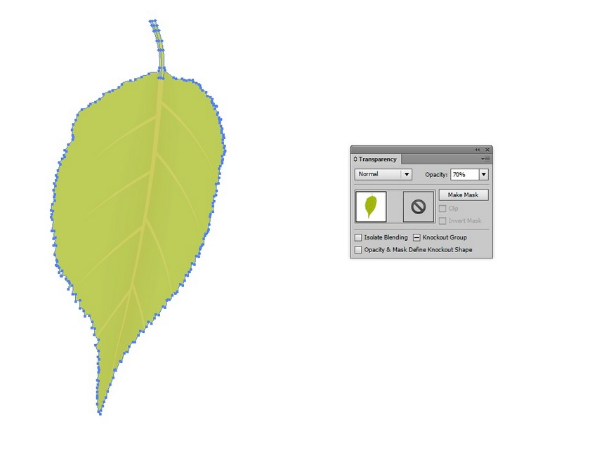 How to Create Mesh Leaves and a Wooden Sign in Adobe Illustrator