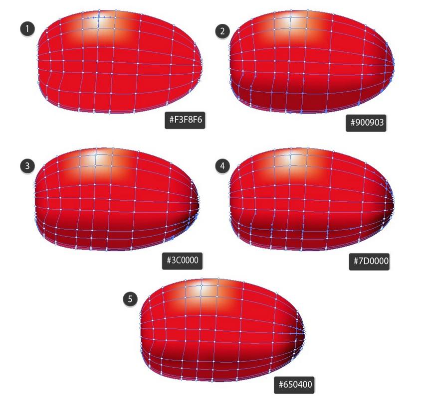 gradient mesh ladybug tutorial