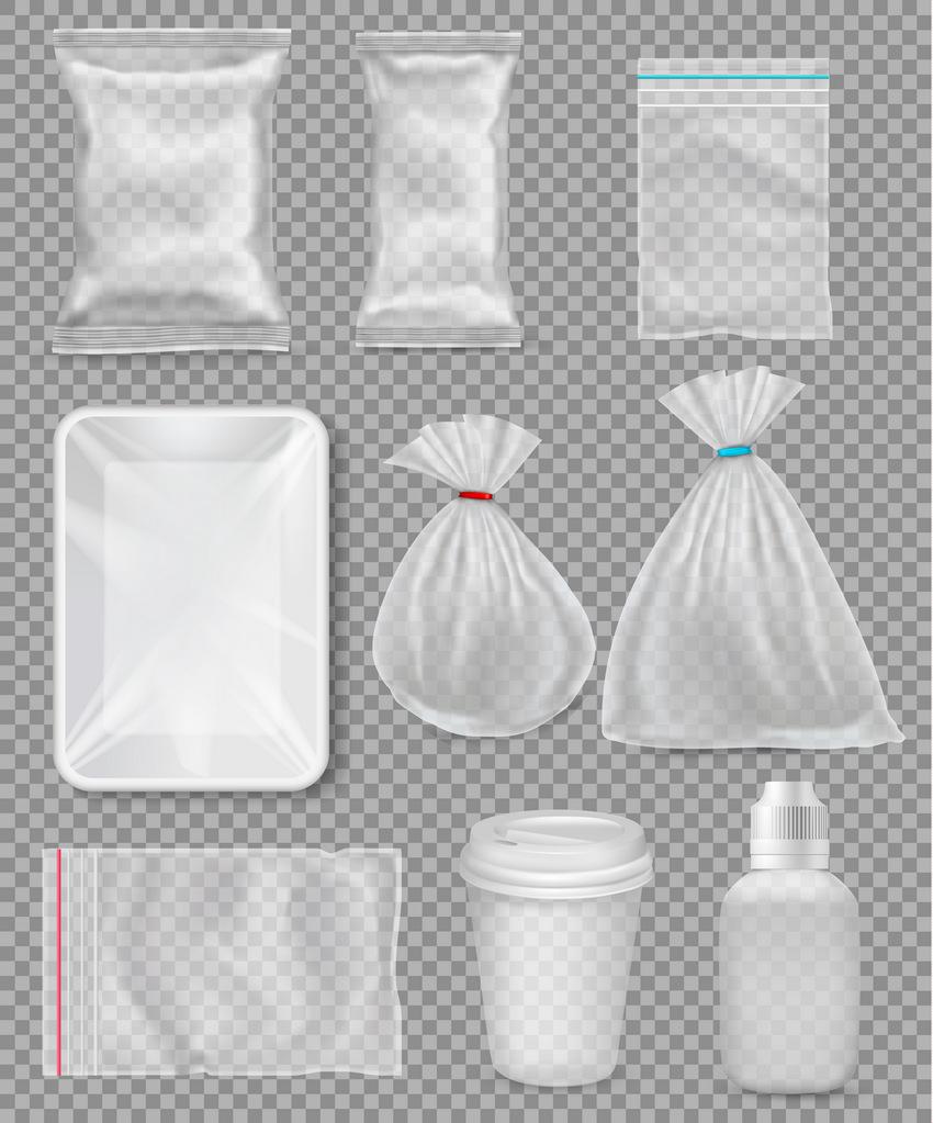 set of packaging