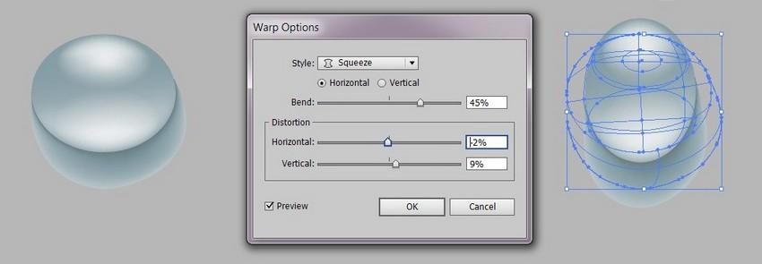 warp effect