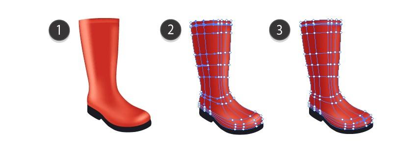 rain boot mesh tutorial