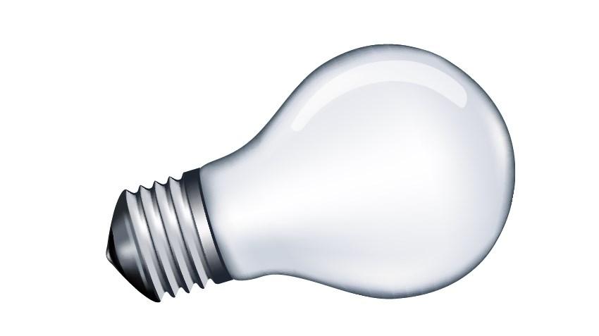 draw light bubl vector tutorial