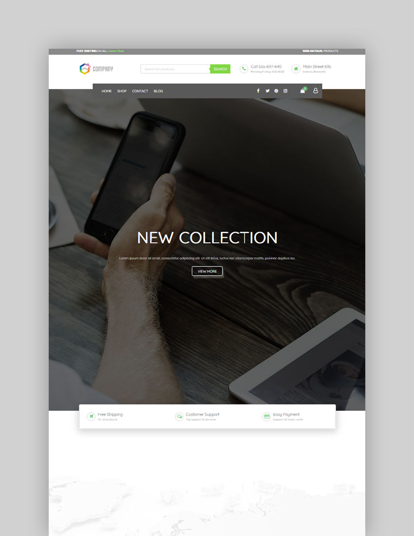 Futurio Free WordPress Theme