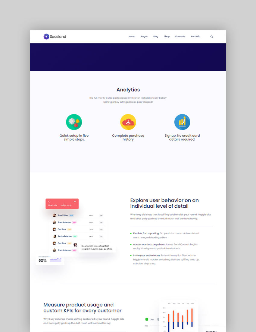 Saasland MultiPurpose WordPress Theme for Startup
